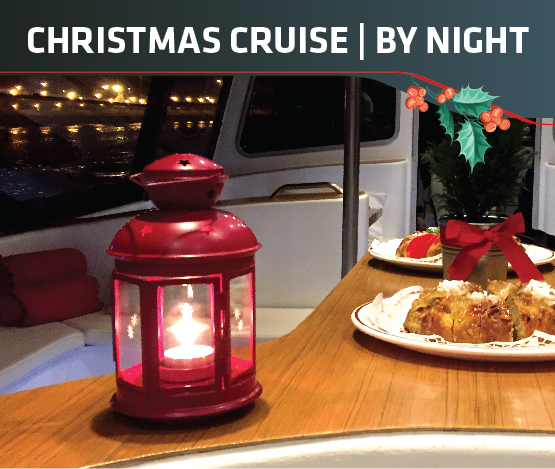 WaterX - Christmas Cruise by Night - Bolo Rei - Tagus Lisbon